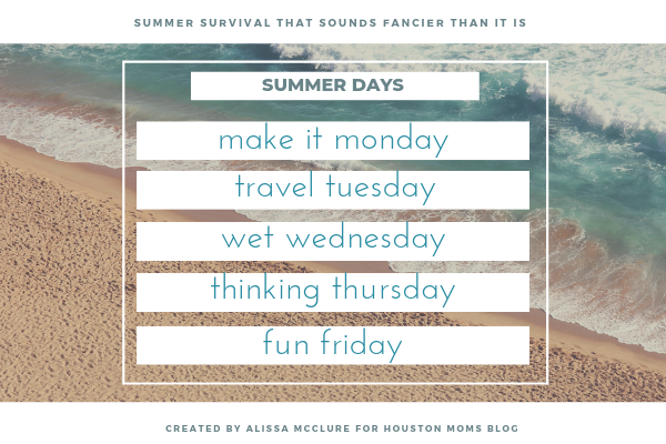 Summer Survival That Sounds Fancier Than It Is {Plus a Free Printable!}