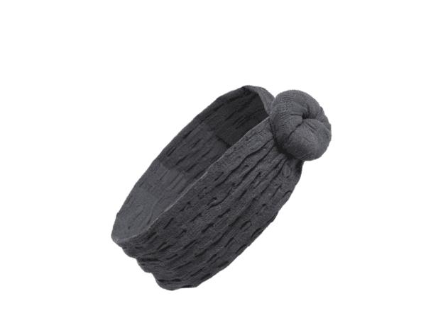 waffle bun headband
