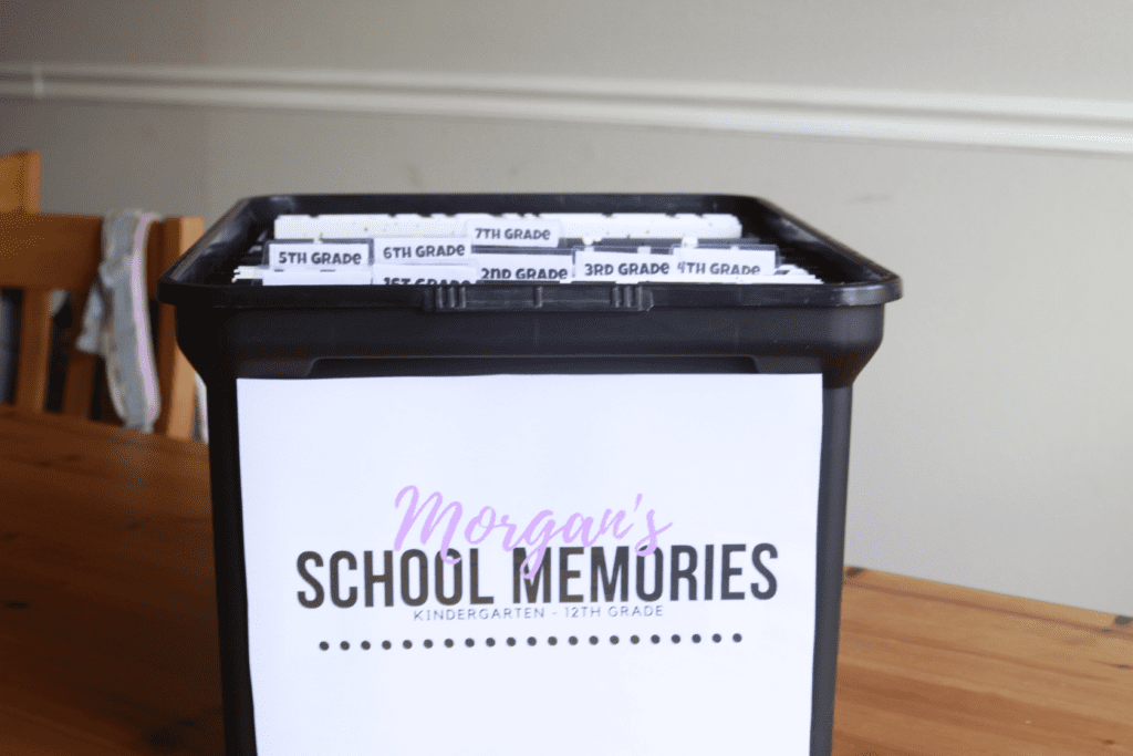 Trash or Treasure? How to Organize School Papers, Memories and Art