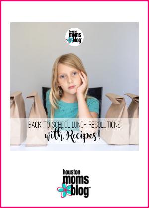 "Houston Moms Blog ""Back to School Lunch Resolutions {with Recipes!}"" #houstonmomsblog #momsaroundhouston"