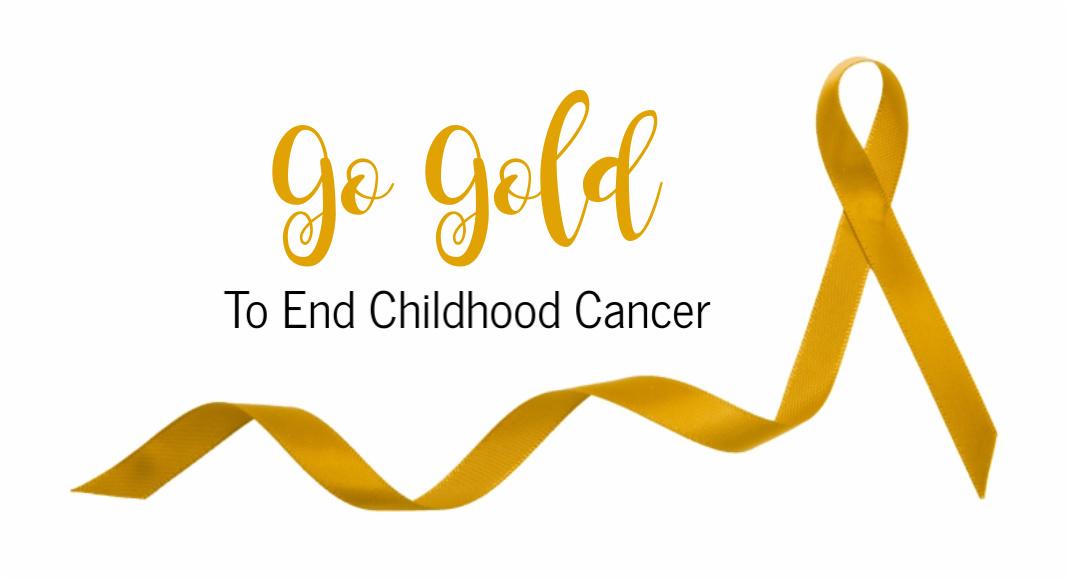 Go Gold to End Childhood Cancer | Houston Moms Blog