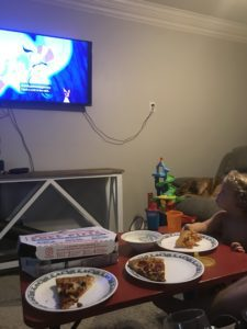 Pizza Night Movie Night :: How a Tradition was Born