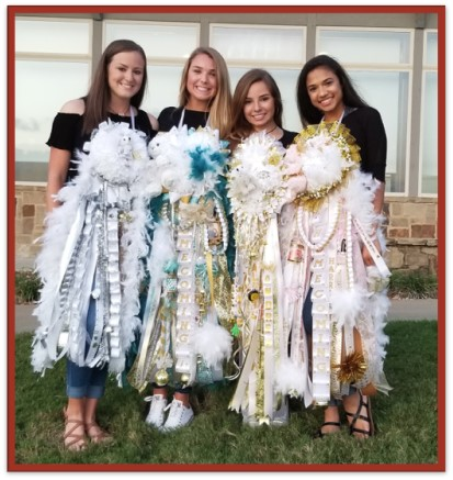 Homecoming 101 by Nicole Ebbesen Rowan depicting the homecoming mums