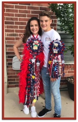 Homecoming 101 by Nicole Ebbesen Rowan the homecoming mum and garter