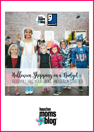 """Houston Moms Blog """"Halloween Shopping on a Budget :: Goodwill has your Ghouls and Goblins Covered"""" #houstonmomsblog #momsaroundhouston"""