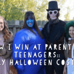 How I Win at Parenting Teenagers:: Family Halloween Costumes