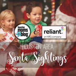 "Houston Moms Blog ""Houston Area Santa Sightings"" #houstonmomsblog #momsaroundhouston"