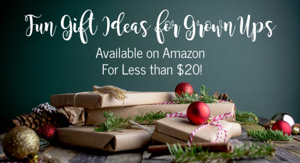 Fun Gift Ideas For Grown Ups Available On Amazon For Under 20