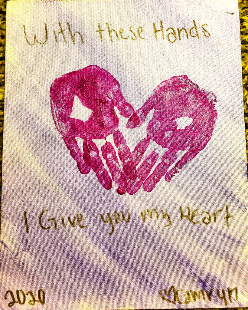 Valentine's Day Crafts :: From Their Hands to Your Heart