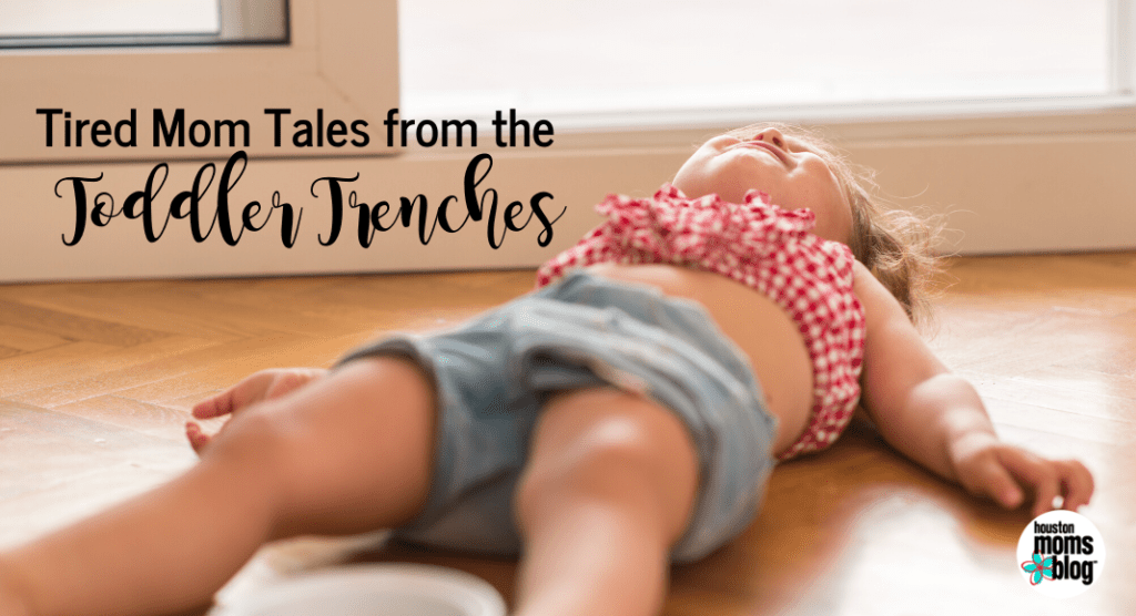 Tired Mom Tales from the Toddler Trenches