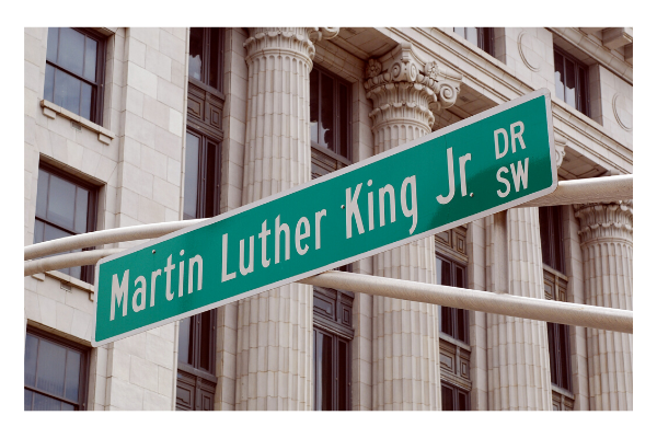 Martin Luter King Jr. Dr. Street Sign