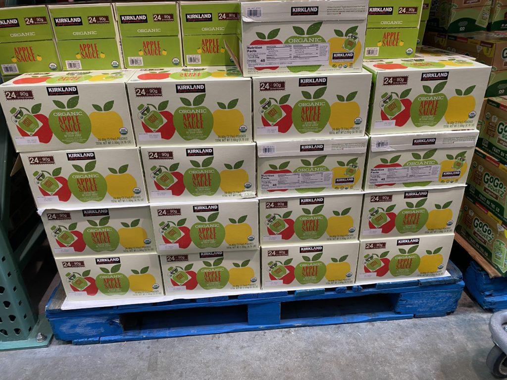 Kirkland Organic Applesauce