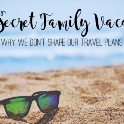 My Secret Family Vacation