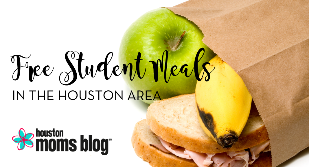 "Houston Moms Blog ""Free Student Meals in the Houston Area"" #houstonmomsblog #momsaroundhouston #houstonmoms"