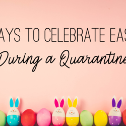 3 Ways to celebrate easter