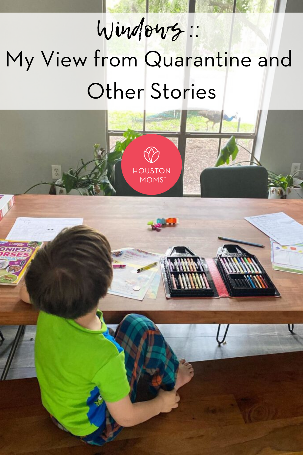 "Houston Moms ""Windows:: My View from Quarantine and Other Stories"" #houstonmoms #houstonmomsblog #momsaroundhouston"