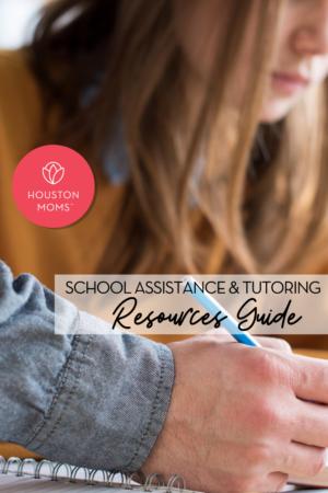 "Houston Moms ""School Assistance &Tutoring Resources Guide"" #houstonmoms #houstonmomsblog #momsaroundhouston"