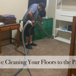 Moms, Leave Cleaning Your Floors to the Professionals
