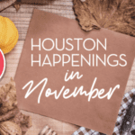 A Houston Mom's Guide to November 2020