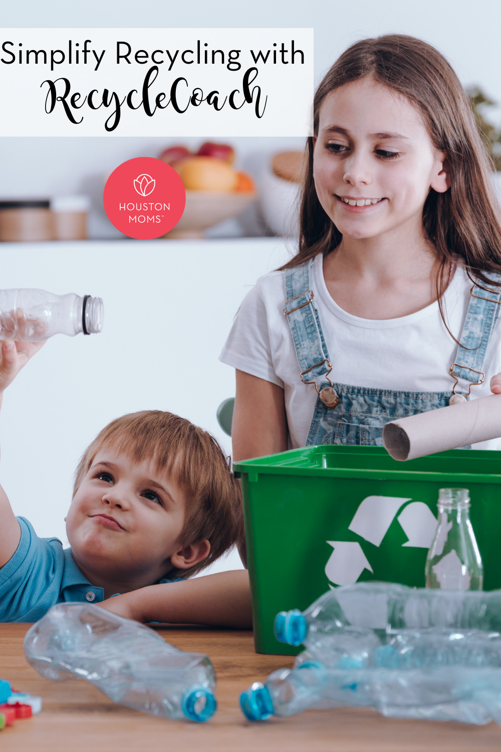 "Houston Moms ""Simplify Recycling with RecycleCoach"" #houstonmoms #houstonmomsblog #momsaroundhouston"