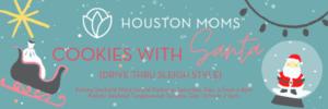 {Você está convidado} Cookies do Houston Moms Blog com o Papai Noel! 6