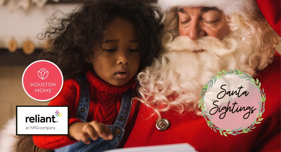 "Houston Moms ""Guide to Santa Sightings in Houston"" #houstonmoms #houstonmomsblog #momsaroundhouston"