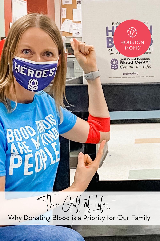 "Houston Moms ""The Gift of Life:: Why Donating Blood is a Priority for Our Family"" #houstonmoms #houstonmomsblog #momsaroundhouston"