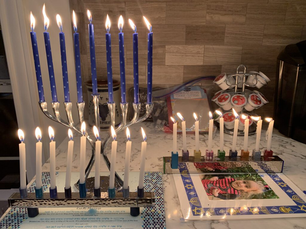 A Confined Hanukkah in France:: Remembering What is Important