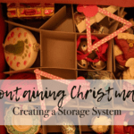 Containing Christmas:: Creating a Storage System